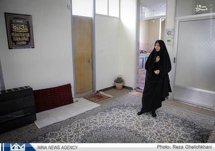 مادر بزرگوار شهيد محسن نبوي