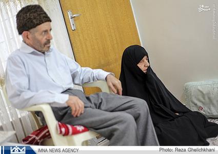 پدر و مادر محسن كه هنوز چشم انتظار فرزند هستند
