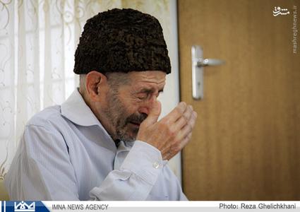 پدر مي گريد و مي گويد:خوشحالم که محسن من هم پیدا شد