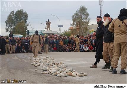 فیلم سنگسار عکس سنگسار عکس داعش جنایات داعش اخبار داعش