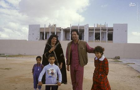 باب العزیزیه پس از سقوط قذافی. سال 2011