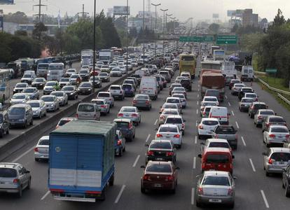 بوینس آیرس، آرژانتین؛ 23760 توقف و حرکت