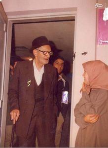 استاد محمدتقی شریعتی در حاشیه مراسم بزرگداشت دکتر شریعتی در تهران