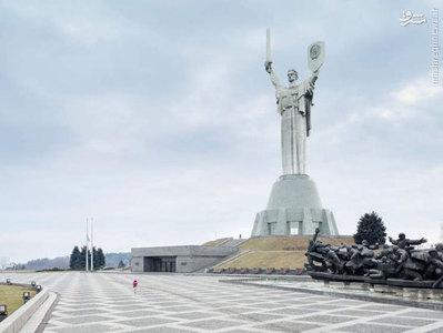 مادر سرزمین پدری، 62 متر، ساخته شده در سال 1981، کییف، اوکراین