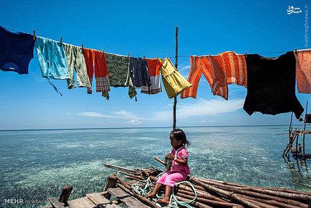 عکس/ زندگی بر روی آب