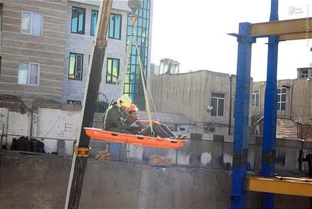 کارگر ساختمانی حوادث ساختمانی حوادث تهران اخبار تهران