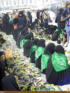 عکس/جشنهای ميلاد سیدالشهداء در كربلا