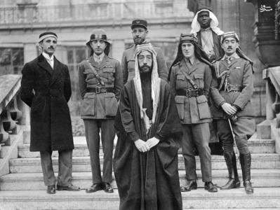لارنس، امیر عبدالله، مارشال سر جفری سالموند، سر هربرت ساموئل در اورشلیم