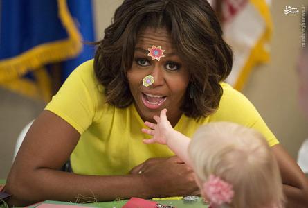 10- میشل اوباما همسر رئیس جمهور امریکا