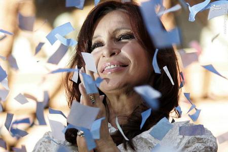 16-  کریستینا فرناندز کرشنر، رییسجمهوری آرژانتین