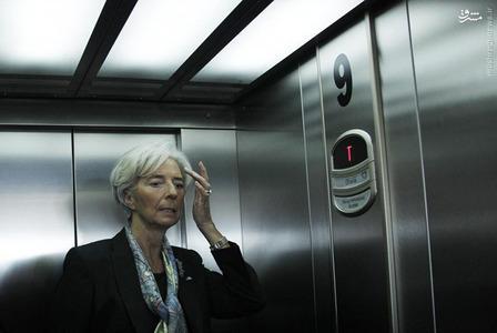 6-  کریستین لاگارد، رییس صندوق بینالمللی پول