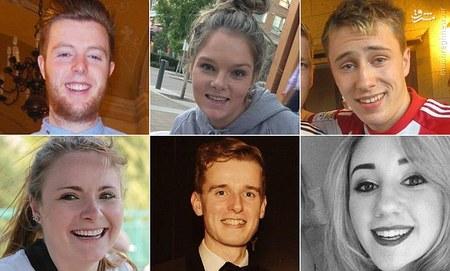 ۶ دانشجوی قربانی این حادثه