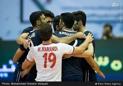 عکس/ دیدار دوم تیم های والیبال ایران و روسیه