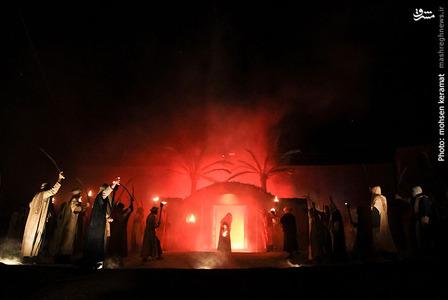 آتش زدن درب خانه حضرت زهرا(س)