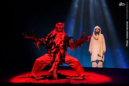 سرکشی شیطان از سجده کردن مقابل حضرت آدم