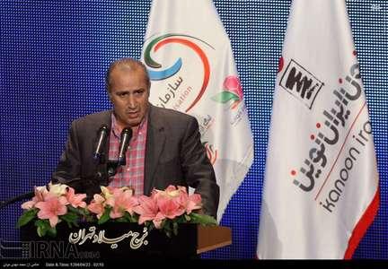 سخنرانی مهدی تاج در مراسم قرعه کشی لیگ برتر