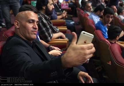 علی منصوریان در مراسم قرعه کشی لیگ برتر