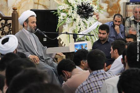 سخنرانی حجت الاسلام پناهیان در بزرگداشت شهید «ابو منتظر المحمداوی» مسئول عملیات سپاه بدر عراق