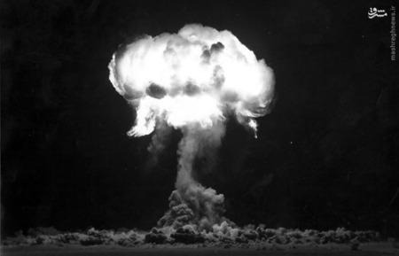 آزمایش Plumbbob در نوادا در 30 آگوست سال 1957