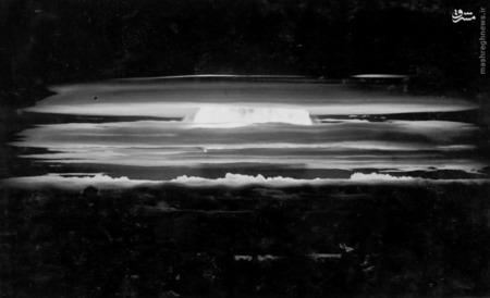 انفجار آزمون بمب هیدروژنی در طول عملیات Redwing در May 20، 1956