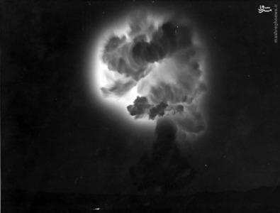 آزمایش هسته ای در یوکای امریکایی روز دوشنبه، 15 جولای 1957.