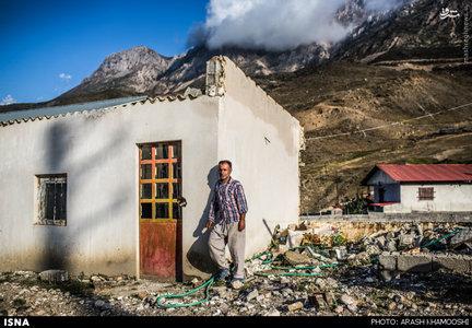 رحمت مرادی کاویانی ساکن روستای چرات در منطقه سواد کوه