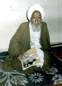 مرحوم علامه شیخ محمدتقی بهلول گنابادی در یک گفت وگوی مطبوعاتی در سالهای آغازین انقلاب