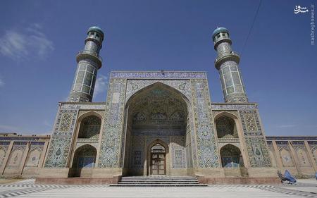 23. مسجد جامع هرات در افغانستان