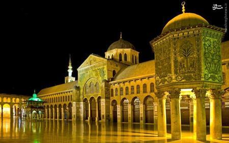 22. مسجد جامع دمشق در سوریه