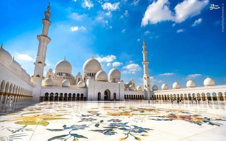 18. مسجد جامع شیخ زاید واقع در ابوظبی امارات