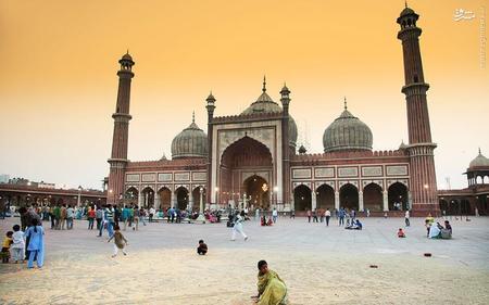 17. مسجد جامع دهلی در هند