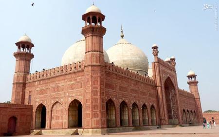 15. مسجد پادشاهی در لاهور پاکستان