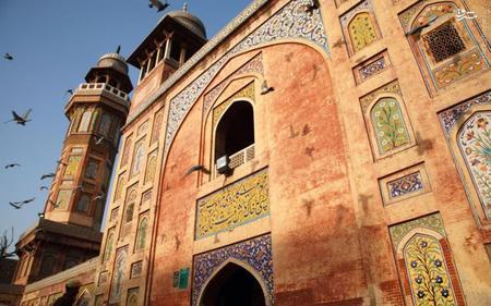 14. مسجد وزیرخان در لاهور پاکستان