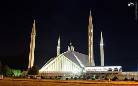 13. مسجد فیصل در اسلامآباد پاکستان