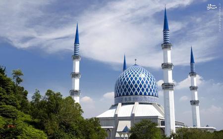 12. مسجد سلطان صلاح الدین عبدالعزیز در مالزی
