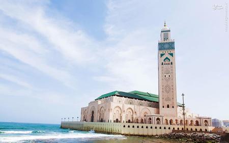 7. مسجد جامع کازابلانکا در مراکش