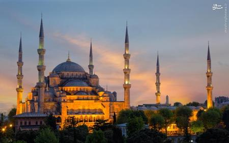 3. مسجد کبود (سلطان احمد)