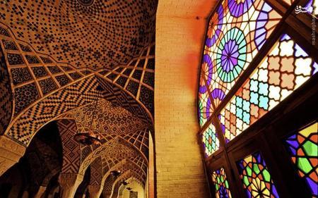 2. مسجد نصیرالملک شیراز