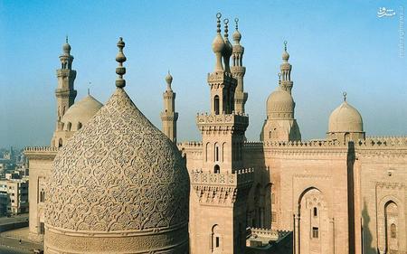 5. مسجد «الأزرق»(آبی) قاهره