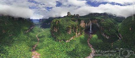 آبشار اژدها در ونزوئلا