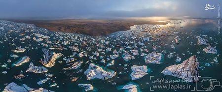 یخ های مرداب جوکولسارلون ایسلند