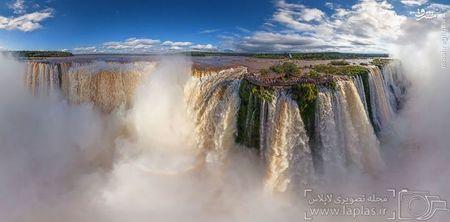 آبشار ایگازو، بزریل و آرژانتین