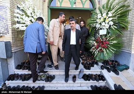 محمود احمدی نژاد رئیس جمهور سابق