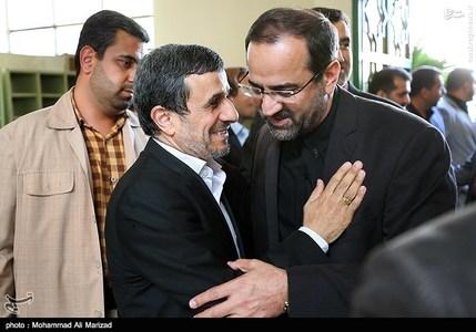 محمود احمدی نژاد رئیس سابق جمهور