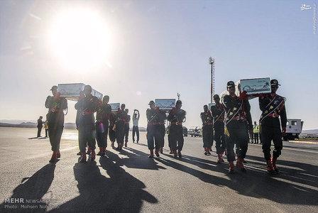 استقبال از ۵ شهید در بیرجند