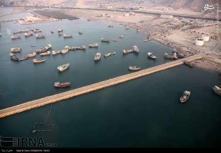عکس هوایی از جزیره قشم
