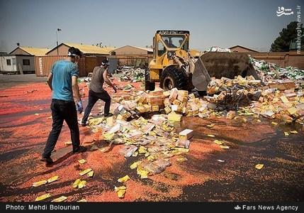 امحای ۵۰۰ تن کالای قاچاق و غیر استاندارد شامل محصولات غیربهداشتی، فاسد شدنی و لباس های مستعمل خارجی به ارزش ۷۰ میلیارد ریال