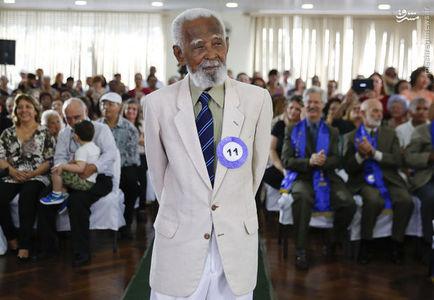 اویلازیو باروسو تورسِ 90 ساله یکی از رقبای او بود