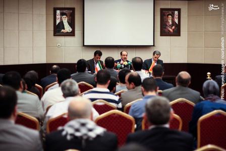 نشست خبری نوری المالکی معاون اول رئیس جمهور عراق بعدازظهر امروز دوشنبه با حضور خبرنگاران رسانه های داخلی و خارجی در هتل آزادی تهران برگزار شد