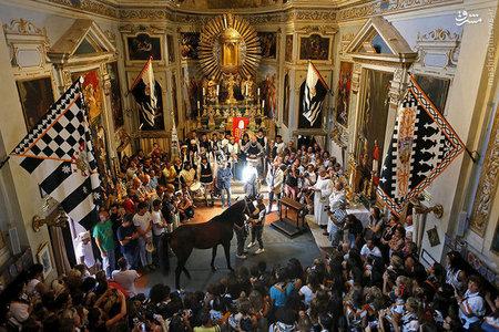 مسابقات اسب سواری سنتی که با سابقه تاریخی از قرن ۱۶ میلادی هر سال در ایتالیا برگزار می شود